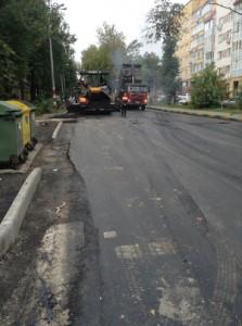 «Дарнит» на дорожных работах в Н. Новгороде