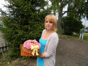 Удивительное кулинарное творение Анастасии Тарасовой