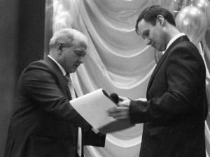 Среди награжденных в тот праздничный день – мастер производственного обучения М.Ю. Пименов