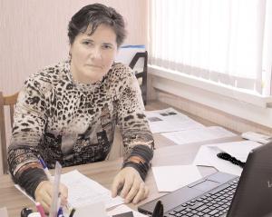 С.А. Юркалова в процессе работы